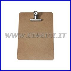 Base portafogli cm.23x16 con clip