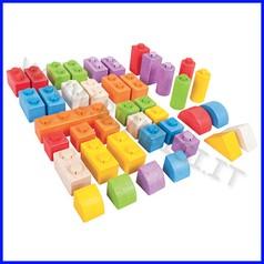 Costruzioni click blocks! - 40 pz. - set intermedio