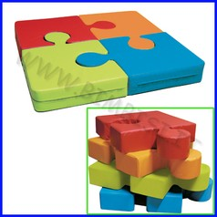 Nuvola - puzzle cm.100x100x12h - set 4 pz. - col. ass. fino ad esaurimento