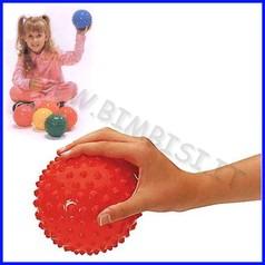 Palle sensoriali easy grip set 6 pz diam.cm.12 gr.100