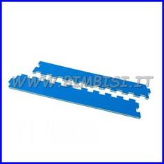 Pavimento ammortizzante puzzle:2 cornici cm 74x10 sp.1.5 cl.1
