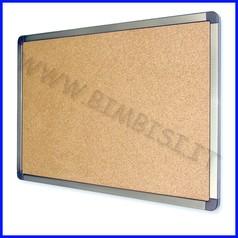Bacheca/pannello fondo in sughero cm.60x90