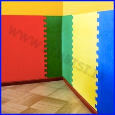 Protezione murale in eva sp 1 cm lastra 120x98.5