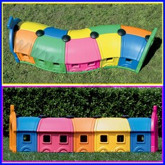 Wagon toy set completo 5 vagoni