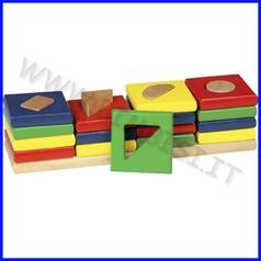 Le 4 torri cm.24,5x6,5x6 (16 pz.)