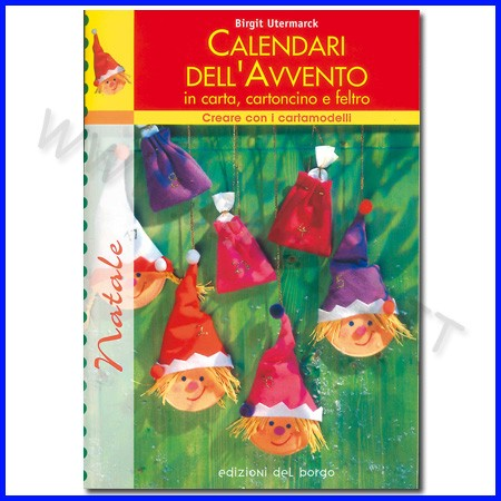 Calendari dell'avvento con cartamodelli