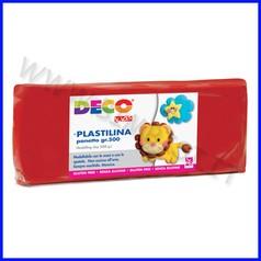 Plastilina - panetto gr.500 - rosso