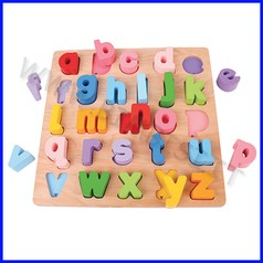 Puzzle 3d grande - alfabeto minuscole