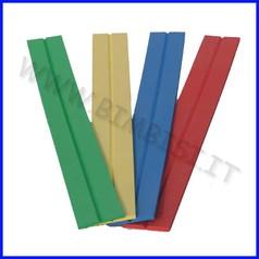 Paraspigolo eva v barra 150cm sp.0.8cm rosso