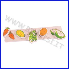 Puzzle alza e combina - verdura fino ad esaurimento