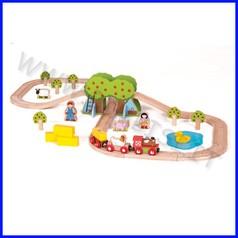 Treno-go - il treno della fattoria 44 pz