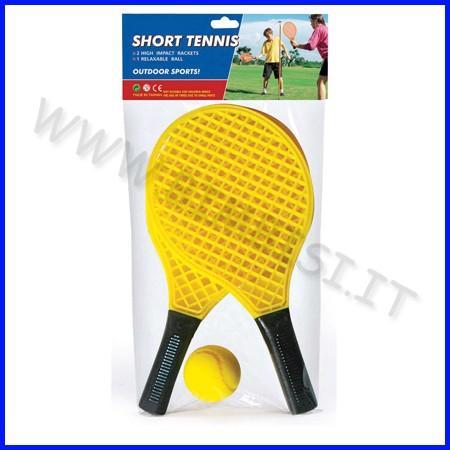Racchette corte tennis set 2+1 pallina