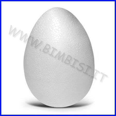 Uovo polistirolo cm.6x4 diametro