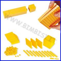 Gioco multibase in plastica 121 pz