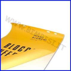 Carta bianca blocco 25 fogli 70x100