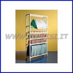 Scaffale porta attrezzi cm 110x28xh197
