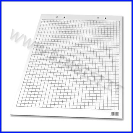 Blocco per lavagna conferenza a1 - fg.10 - quadrettato fino ad esaurimento