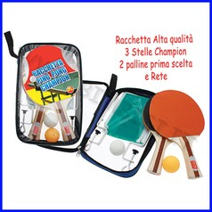 Racchette ping pong - set college