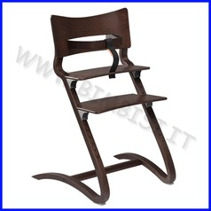 Seggiolone high chair leander wallnut