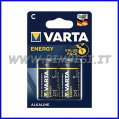 Pila energy alcaline torcia - blister 2 pz.