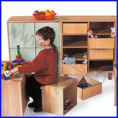 Contenitore piccolo x mobili in legno