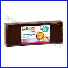 Plastilina - panetto gr.500 - marrone