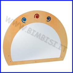 Recinto divisorio elemento specchio dim. cm 105x80h