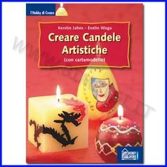 Creare candele artistiche con cartamodel