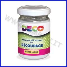 Decoupage vernice lucida barattolo ml.150