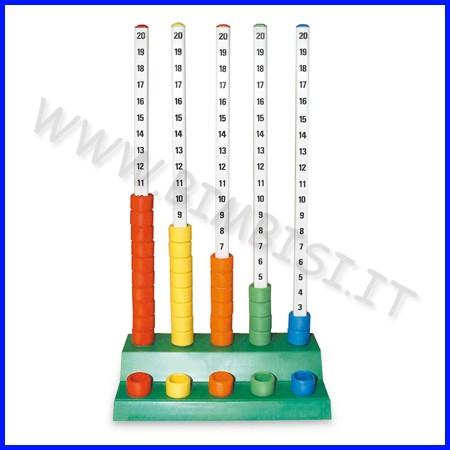 Abaco numeratore a colonne c/100 cilindr