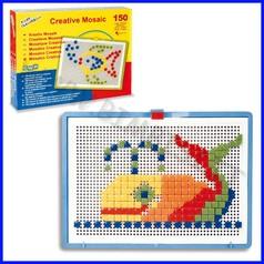 Mosaico creativo chiodini 300 quadrati