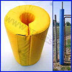 Protezione cilindrica antitrauma sp.5cm diam.interno 5cm esterno 15 cm h200cm