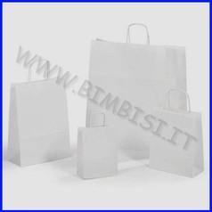 Sacchetto bianco cm.22x10x27 - pz. 25