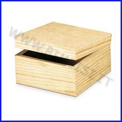 Supporti in legno: scatoletta cm.15x15x9