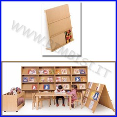 Libreria a muro 90x20x100