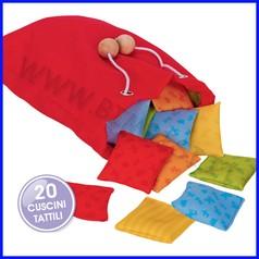 Memo tattile dei cuscini - 20 pezzi