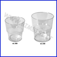 Bicchieri kristal ml. 330 confezione 12