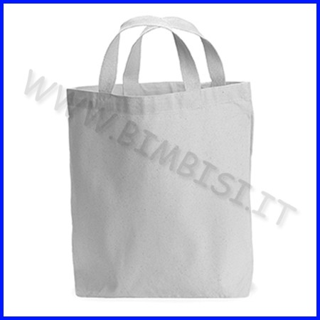 Borsa in cotone da decorare cm.23x26