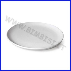 Ceramica biscotto piatto diam cm.24 con fori