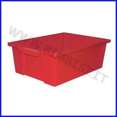 Contenitore alto cm.43x31,5x15 - rosso