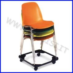 Sedia adulti - carrello trasporto sedie fino ad esaurimento