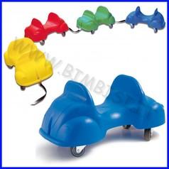 Rollercar set 4 pezzi colori assortiti + connettori