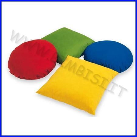 Cuscini quadrati e tondi cm 50 set 4 pz