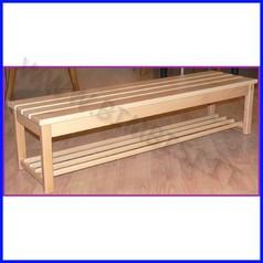 Panca in legno cm.122x32x30