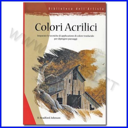 Libro colori acrilici