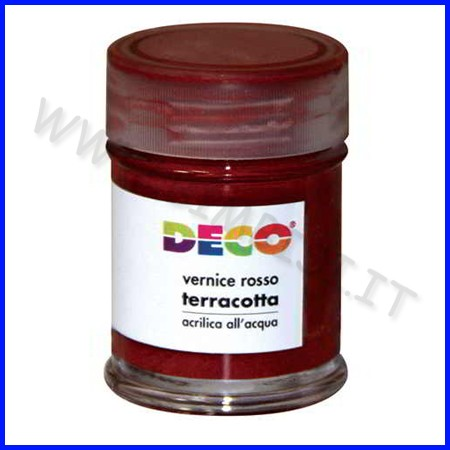 Vernice rossa per terracotta - ml.35