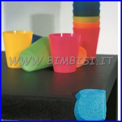 Protezione angoli mm 130 sp. 10 azzurro