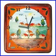 Creare orologi forma rilievo orologio paesaggio fino ad esaurimento
