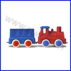 Go-go trenino locomotiva + 1 vagone col. ass.