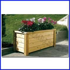 Fioriera in legno basic 40x40x44h cm